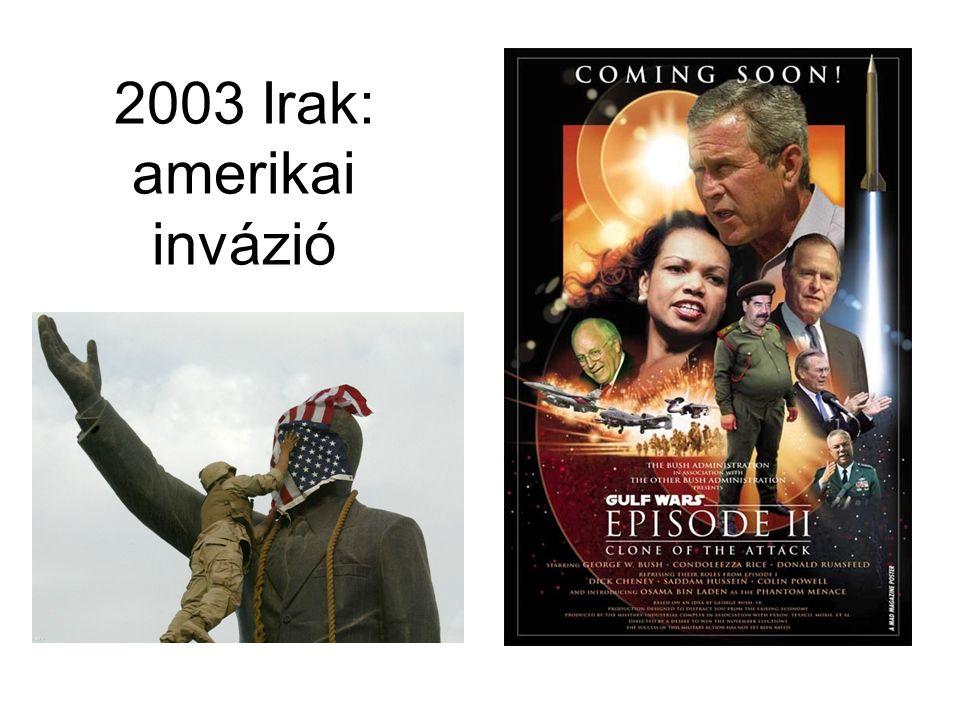 2003 Irak: amerikai invázió