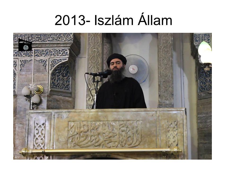 2013- Iszlám Állam
