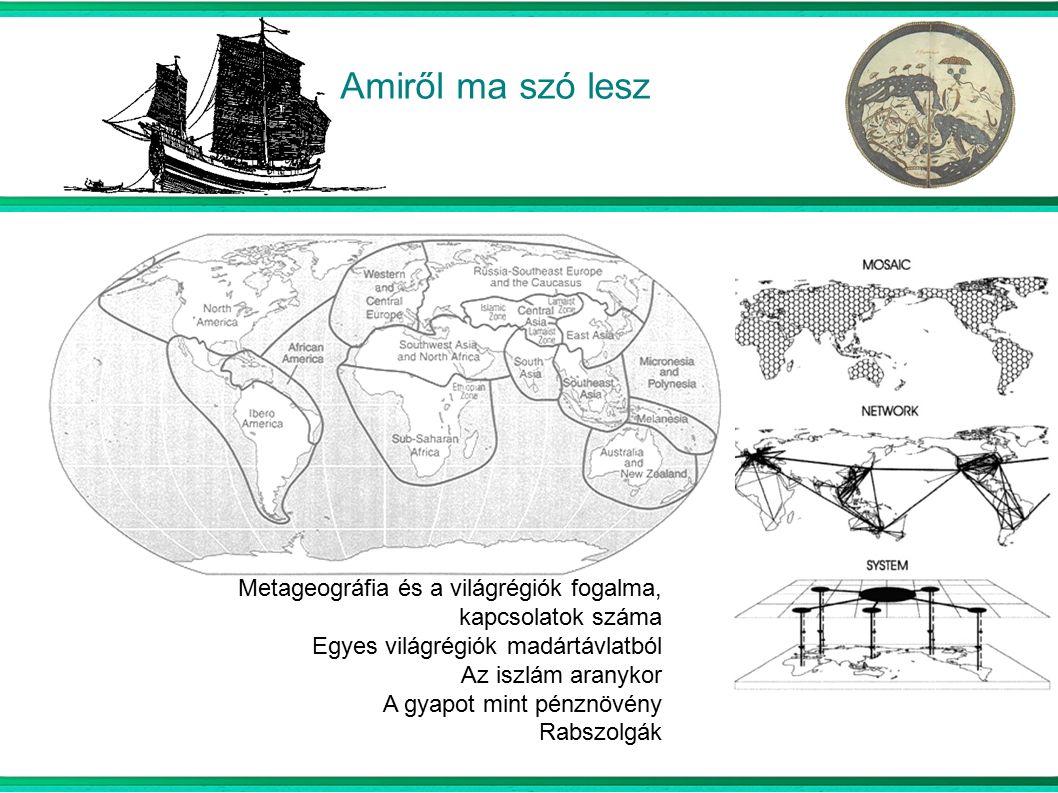 A Mare Nostrum térségei Római utak helyett tenger Berberek: a Földközi- tenger mindkét oldalán Európai arab exportcikkek és a rekonkviszta hatásai Velence és Genova: rivalizáló városállamok Hatás Bizáncra és a muszlim kereskedőkre