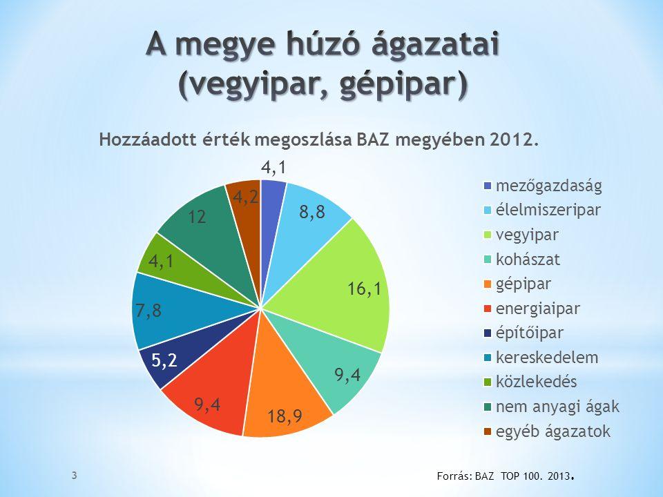 4 Forrás: BAZ TOP 100. 2009-2013.