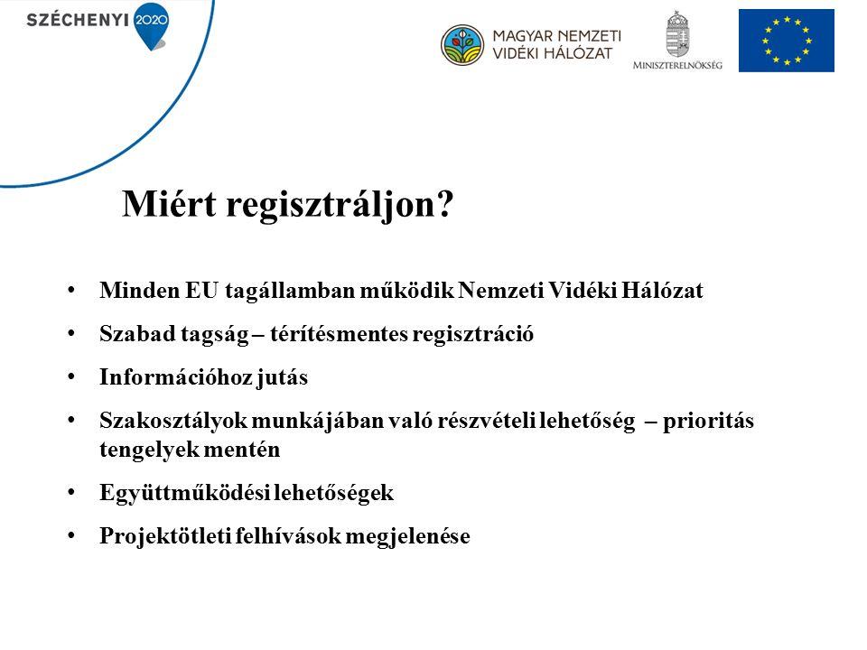 Miért regisztráljon.