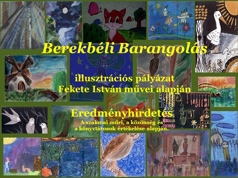 Óvodás kategória I. helyezett Titi Marcell, Berekböszörmény Unka, a béka