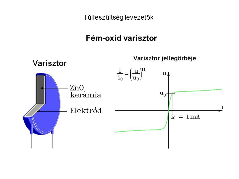 Fém-oxid varisztor Túlfeszültség levezetők