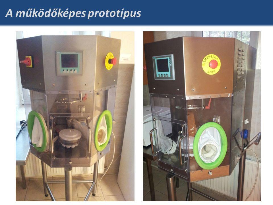 A működőképes prototípus