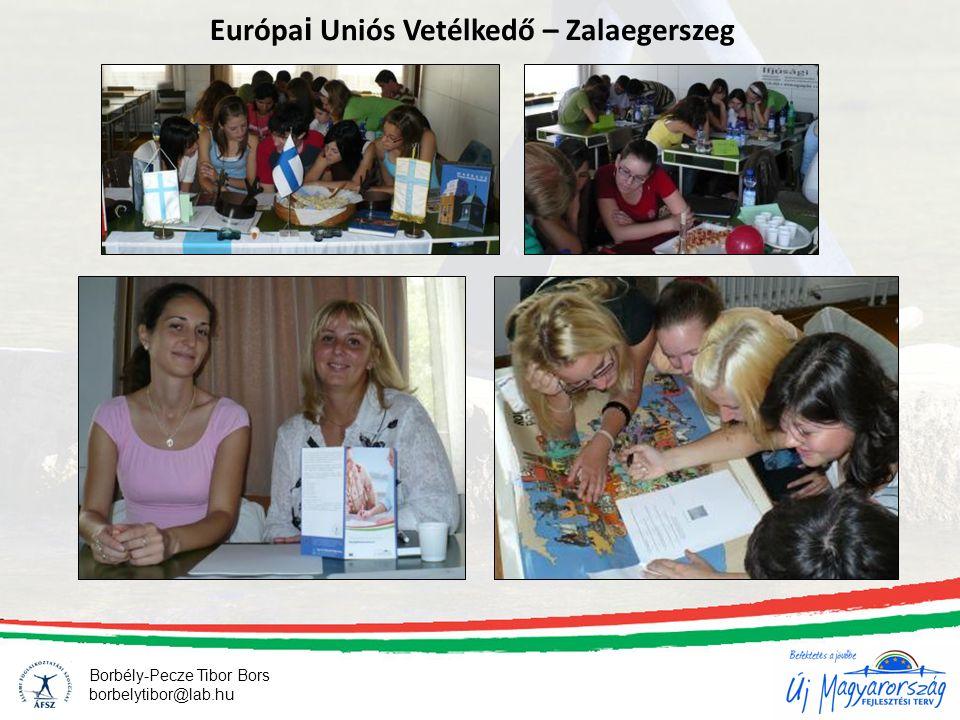 21 Európa i Uniós Vetélkedő – Zalaegerszeg Borbély-Pecze Tibor Bors borbelytibor@lab.hu