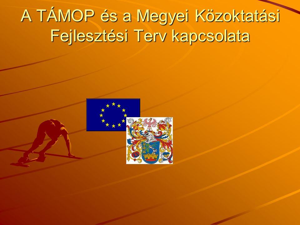 A TÁMOP és a Megyei Közoktatási Fejlesztési Terv kapcsolata
