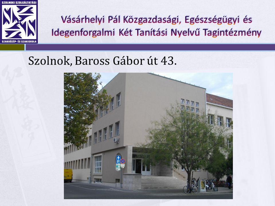 Szolnok, Baross Gábor út 43.