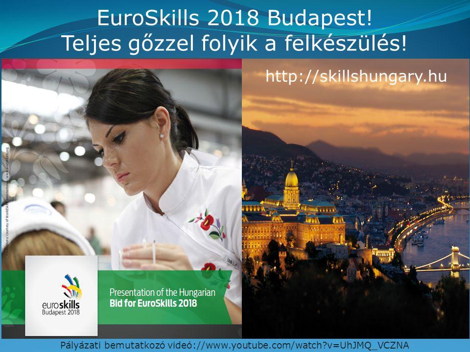 EuroSkills 2018 Budapest. Teljes gőzzel folyik a felkészülés.