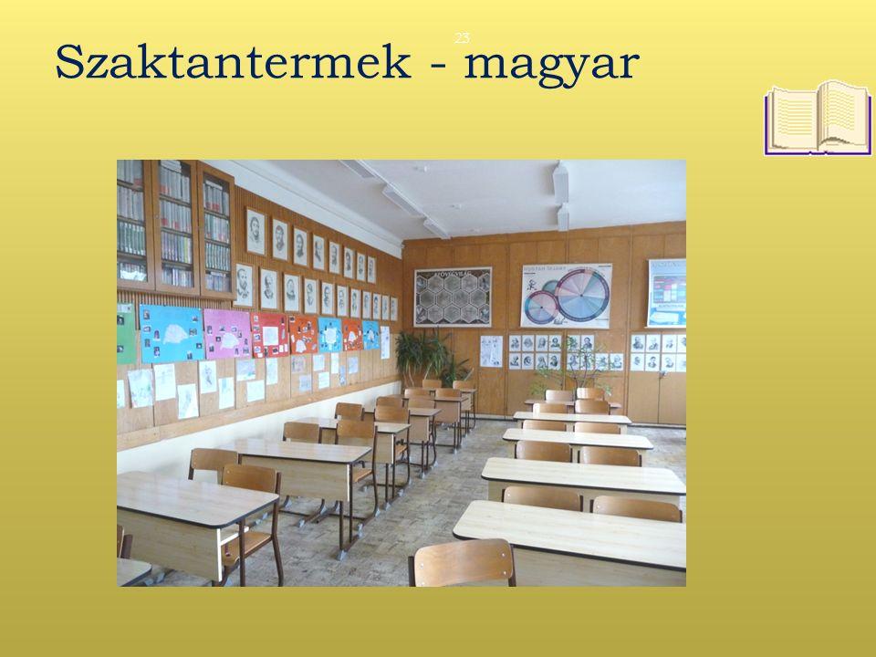 Szaktantermek - magyar 23