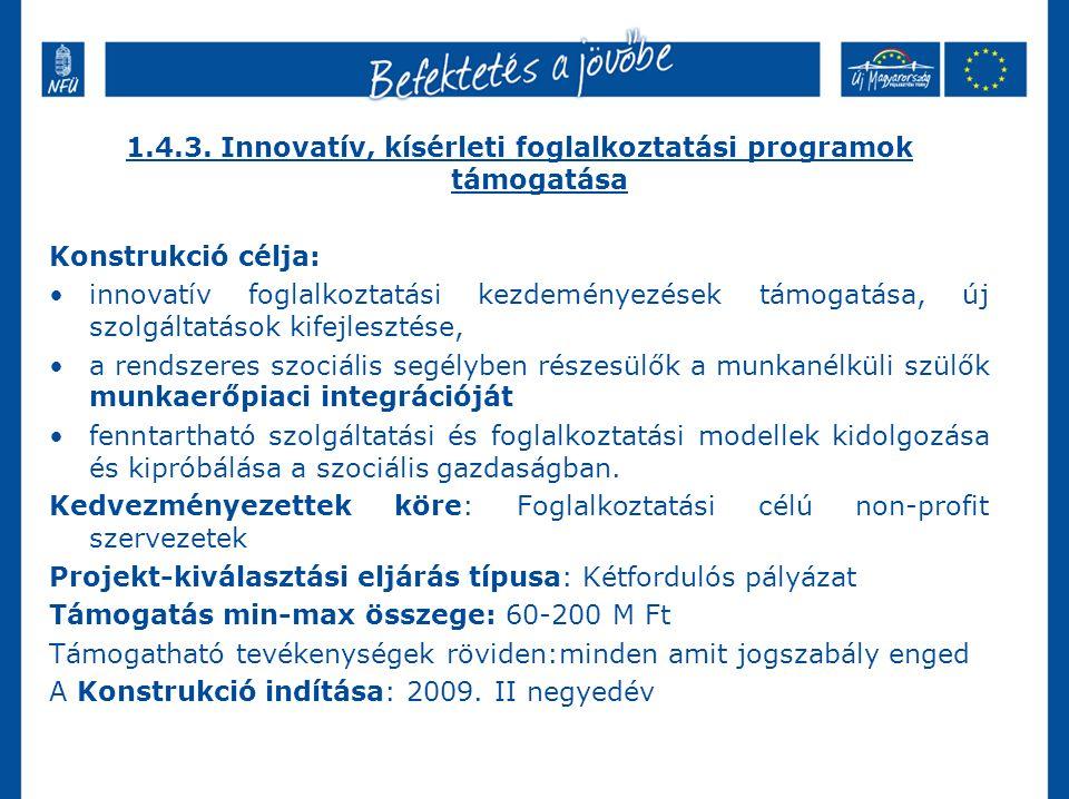 A Társadalmi Infrastruktúra Operatív Program 2009-2010.
