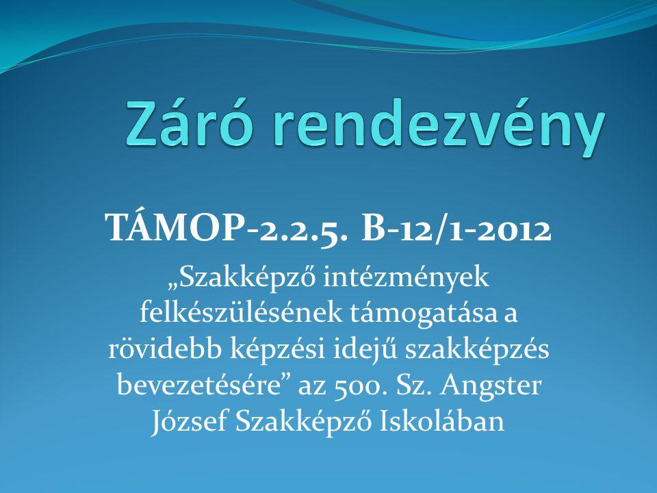 TÁMOP-2.2.5.