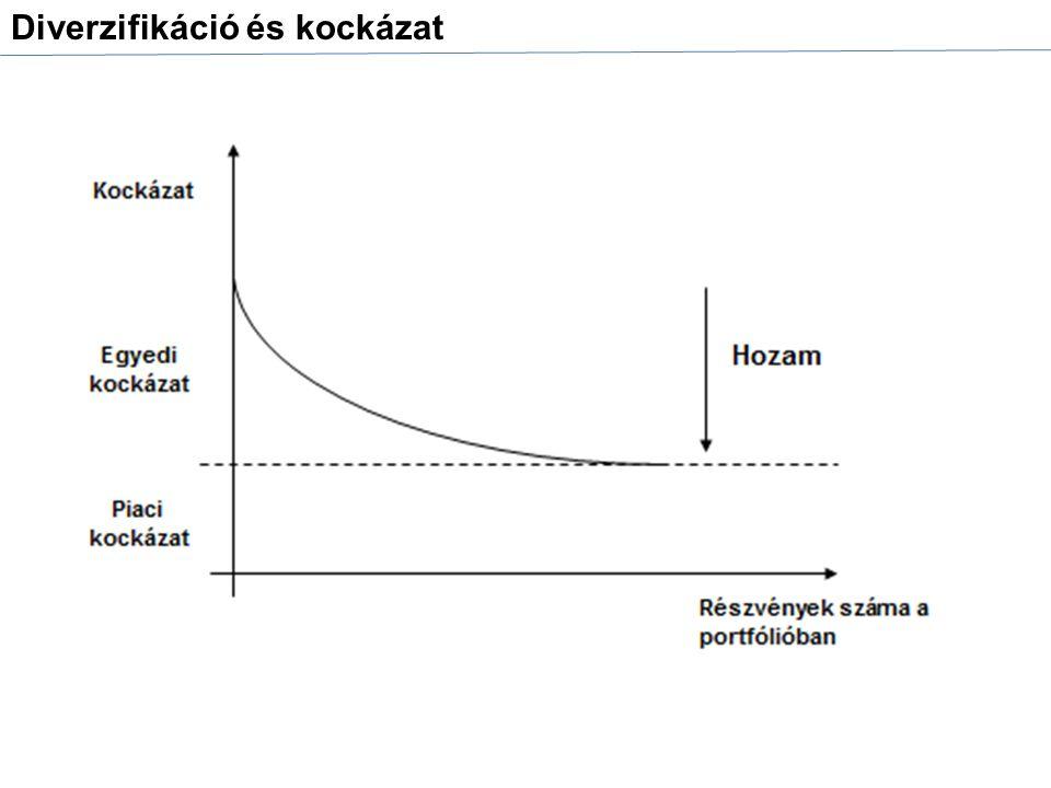 Diverzifikáció és kockázat