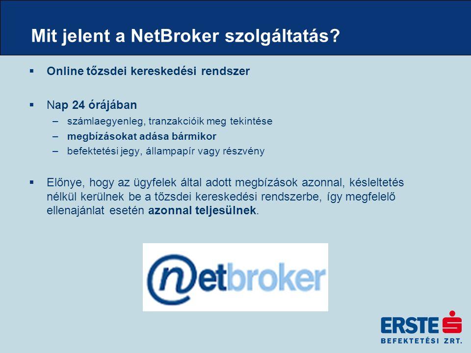Mit jelent a NetBroker szolgáltatás.