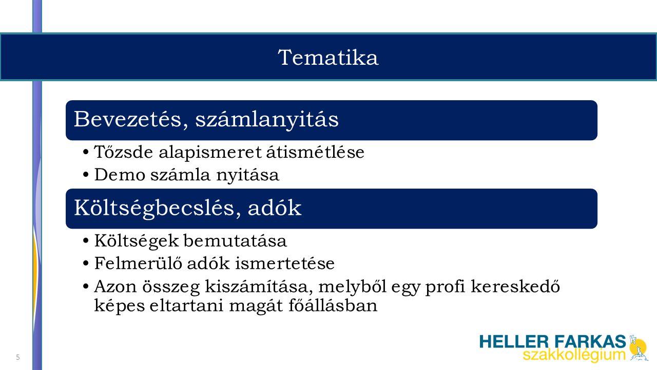 Tematika 6 Technikai elemzés módszertana I.