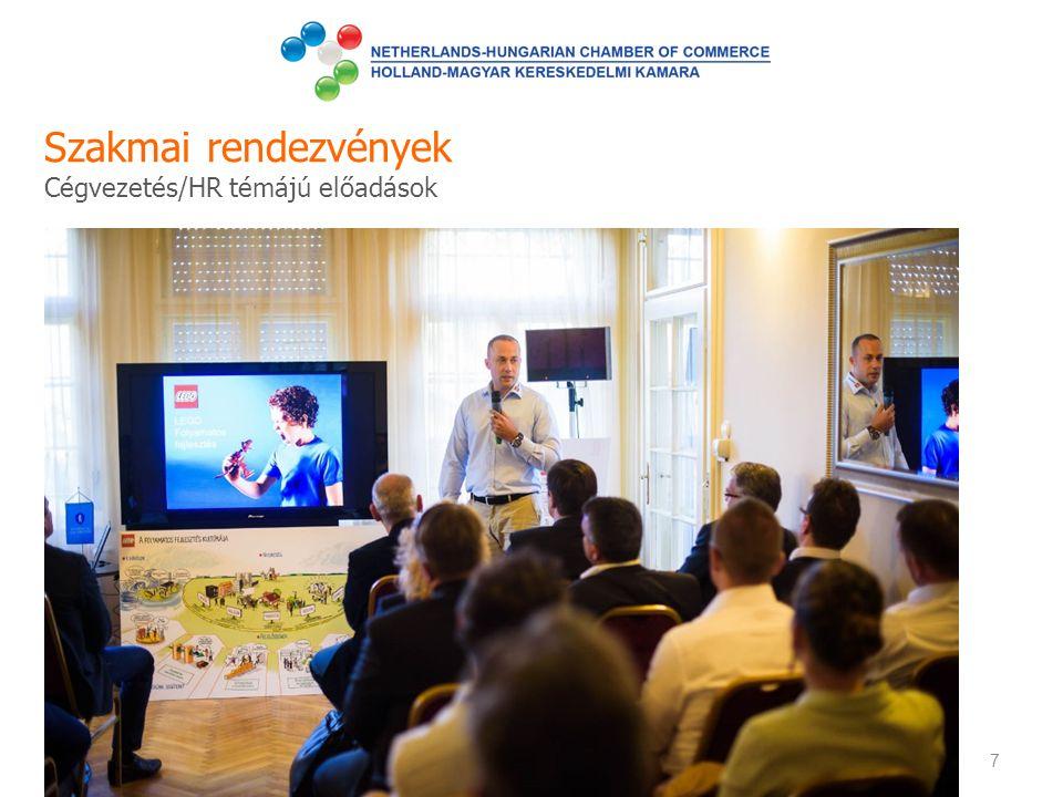 Szakmai rendezvények Cégvezetés/HR témájú előadások 7