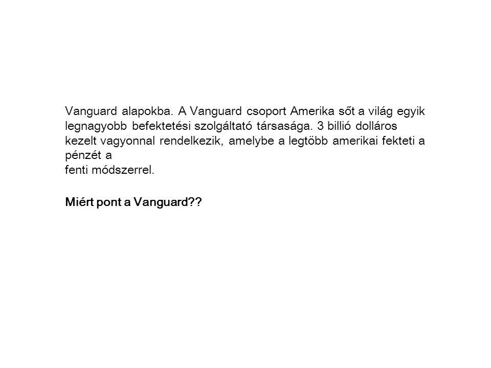 Vanguard alapokba.