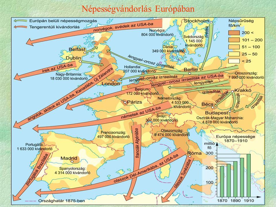 Népességvándorlás Európában