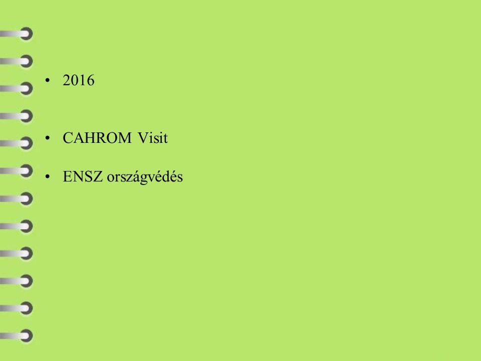 2016 CAHROM Visit ENSZ országvédés