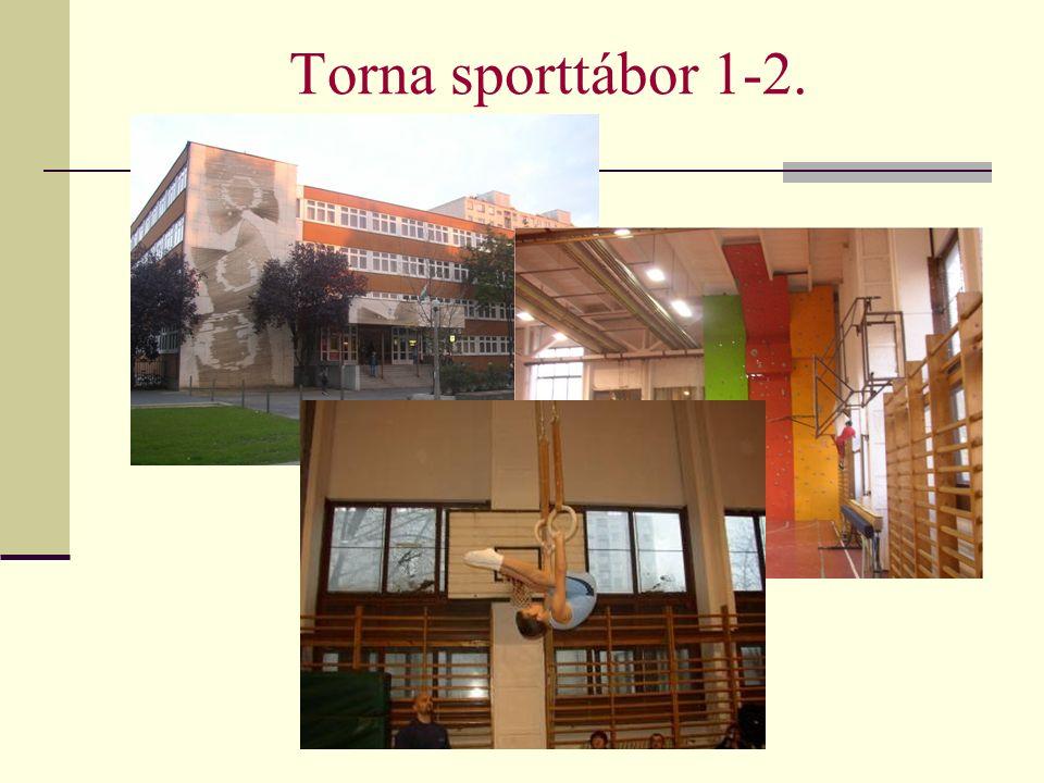 Torna sporttábor 1-2.