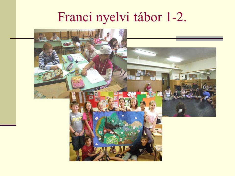 Franci nyelvi tábor 1-2.