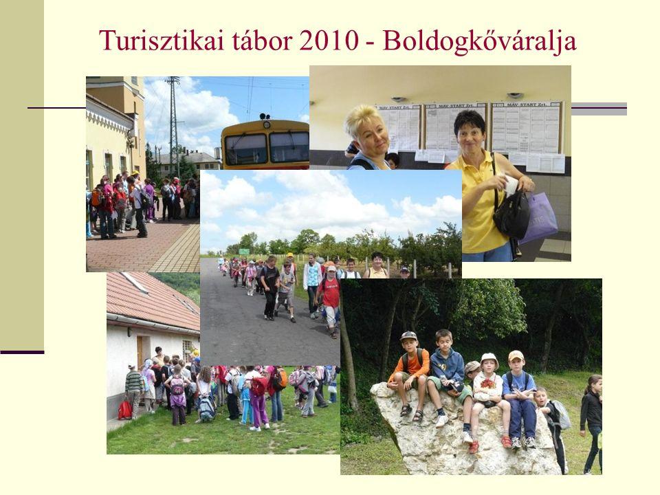 Turisztikai tábor 2010 - Boldogkőváralja