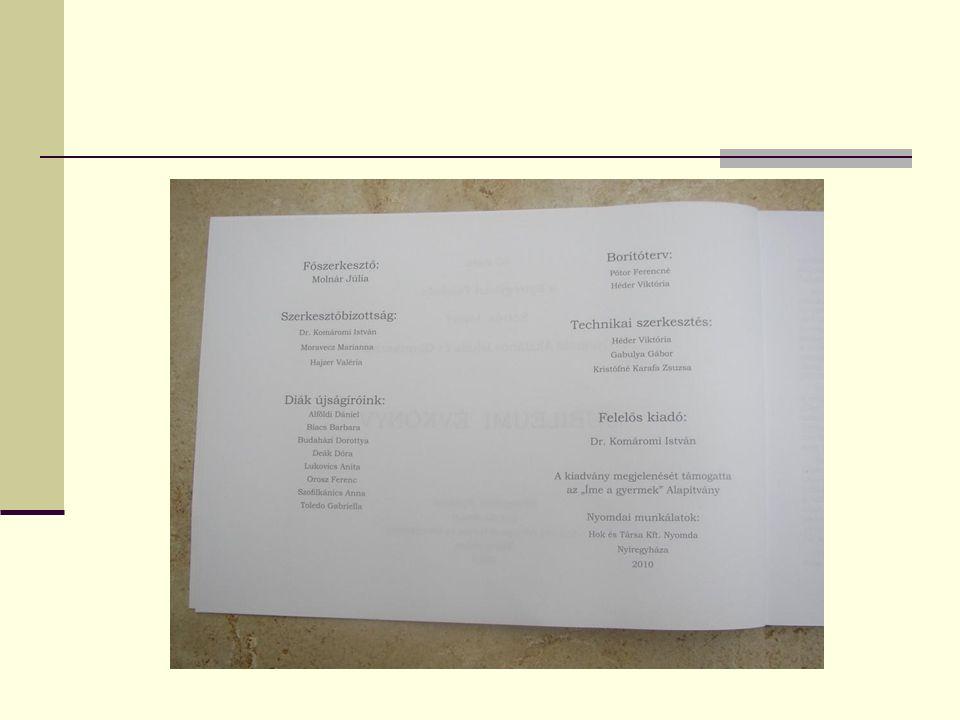 ÖSSZEFOGLALÓ TÁJÉKOZTATÁS AZ ISKOLA, ILLETVE AZ ISKOLA PEDAGÓGUSAI ÁLTAL SZERVEZETT NYÁRI TÁBOROKRÓL ÉS PROGRAMOKRÓL Szervező tanár neve Korosztálynak szervezve Program jellege IdőpontHelyszín Zentai Tünde Máté Jánosné 2-3.
