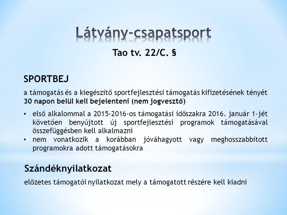 Tao tv. 22/C.