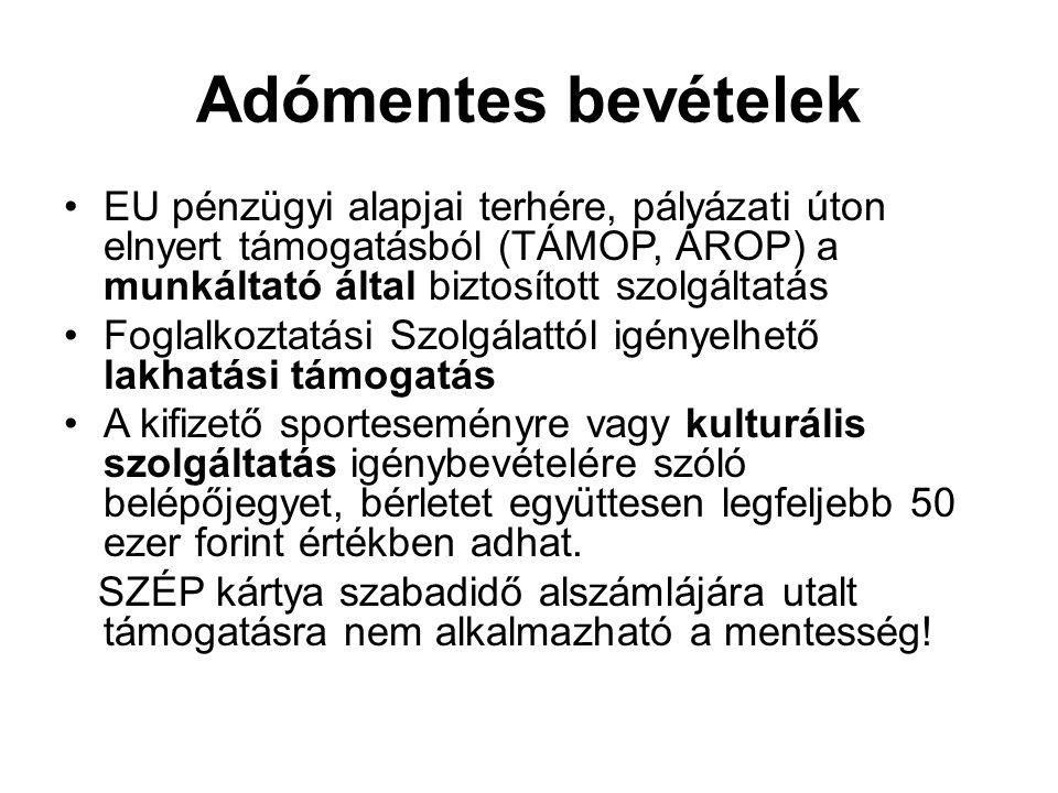 Bejelentkezés Kisadózó(k) neve, címe, adóazonosítója Nyilatkozat arról, hogy a kisadózó főállásúnak minősül-e Bejelentkezésre szolgáló nyomtatványok: T101 T101/E T201/T
