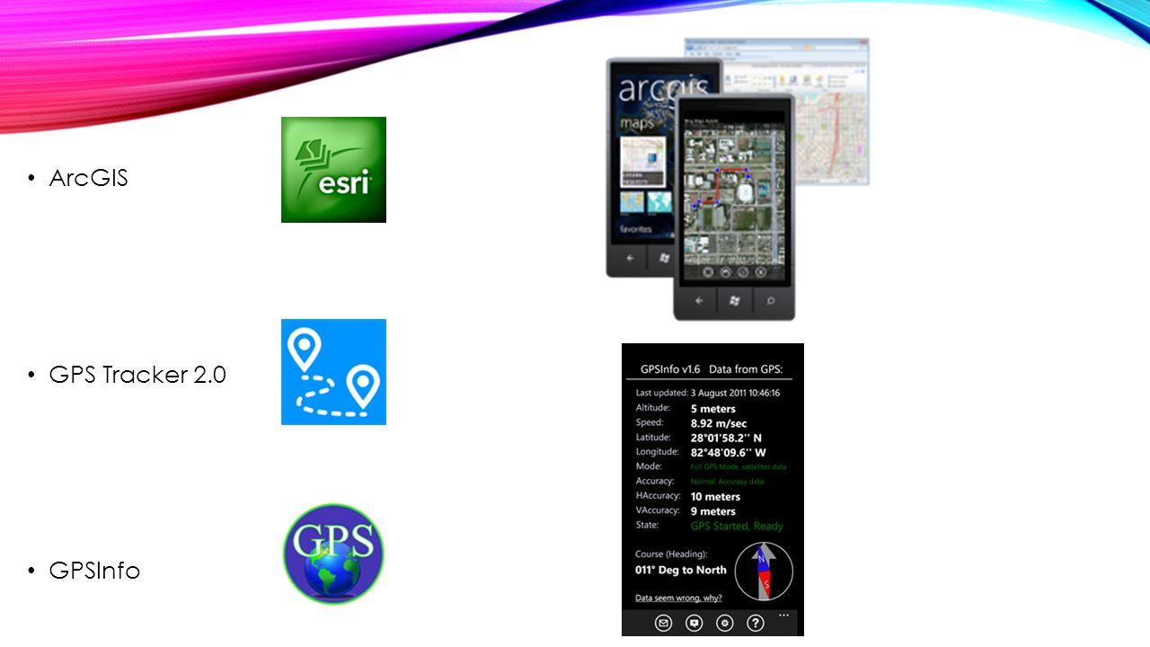 ArcGIS GPS Tracker 2.0 GPSInfo