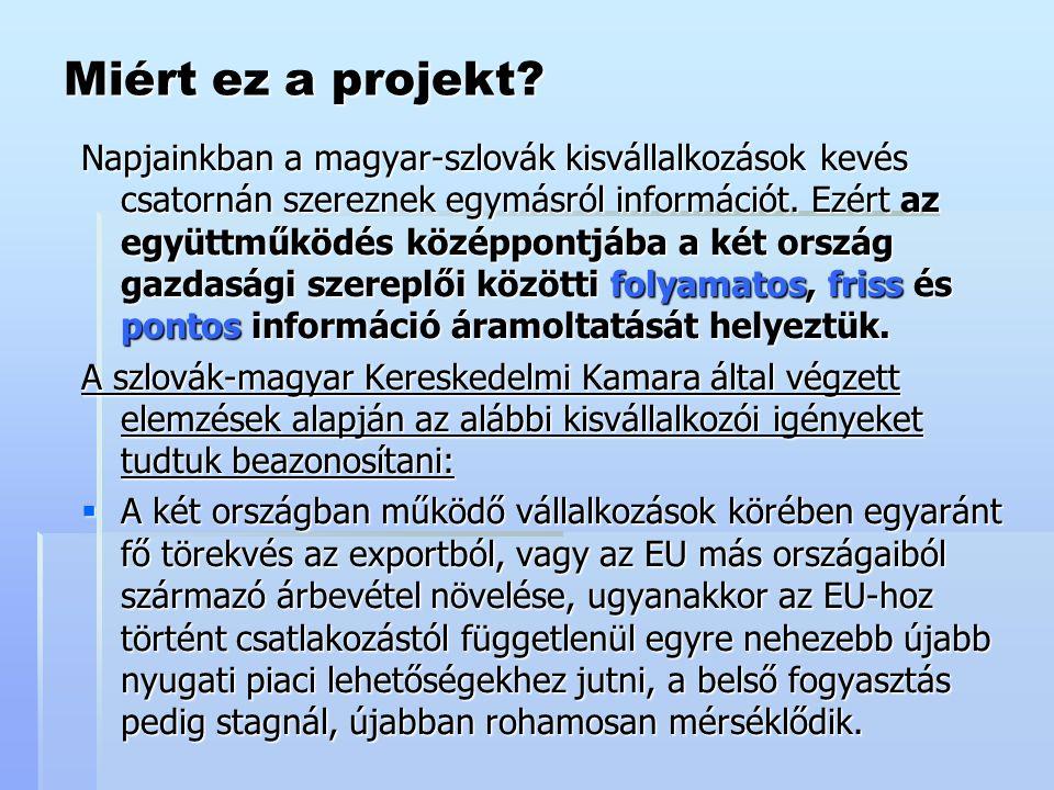 Miért ez a projekt.