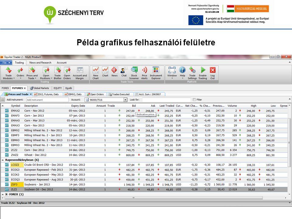 Példa grafikus felhasználói felületre