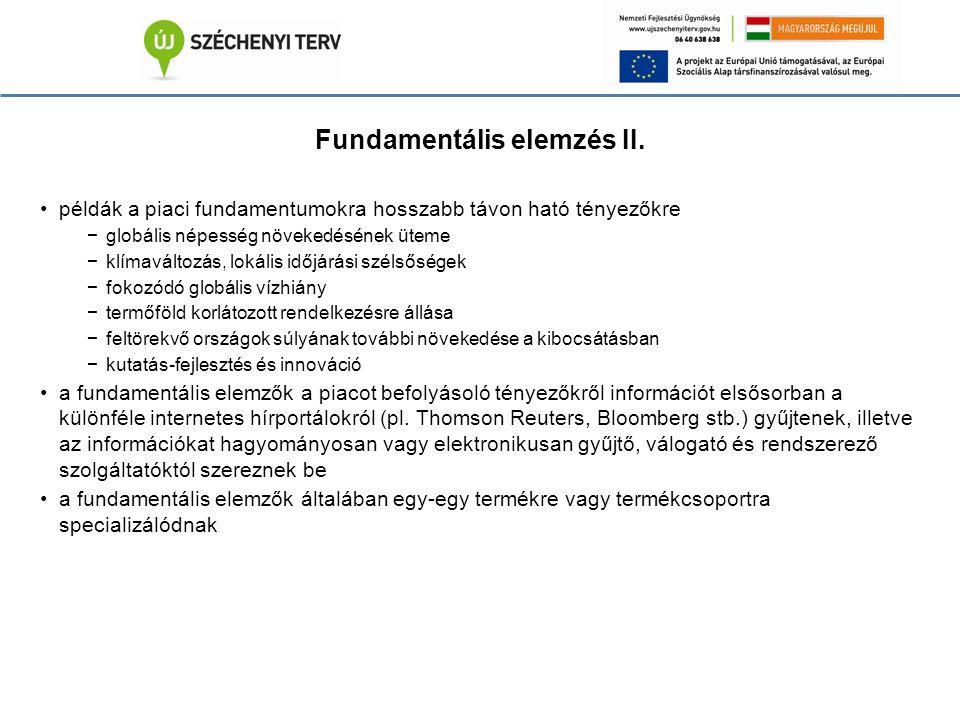 Fundamentális elemzés II.