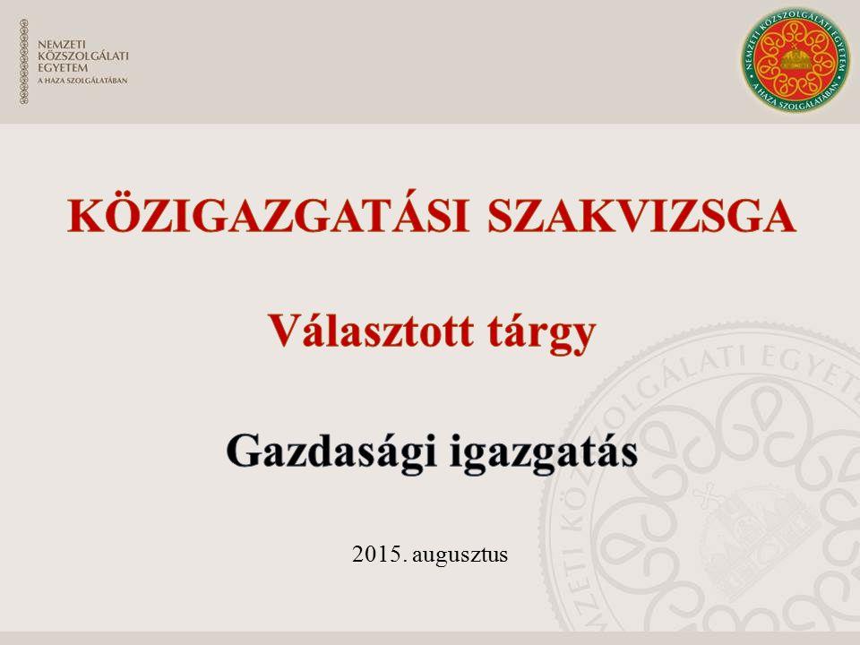 EU egységes piacára alkalmazható eszközök Kiviteli-, illetve behozatali engedély - Magyar Kereskedelmi Engedélyezési Hivatal védintézkedés - Bizottság export visszatérítési rendszer sajátos versenyjogi szabályok (lehetőség a szabályozott belső megállapodásokra) Az agrártermékek sajátos piacszabályozási rendje, intézményei