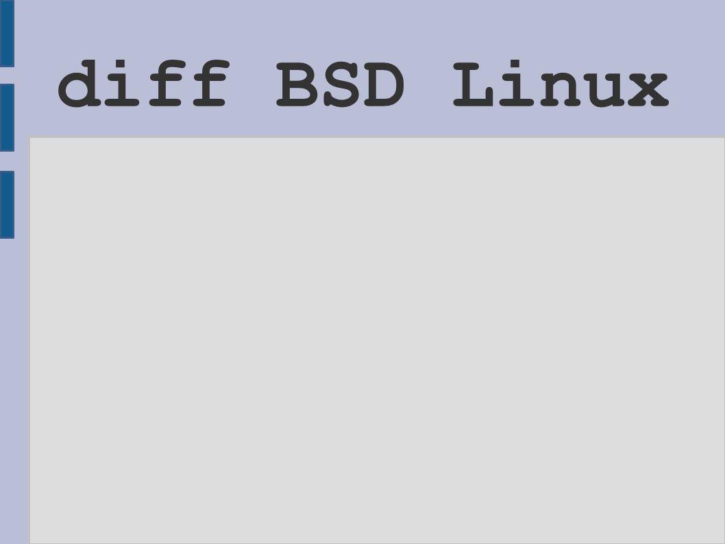 Fejlődés (80-as és 90-es évek) ● A BSD rendszerek továbbfelődésének eredménye: 386BSD (IBM PC gépekre), a kilencvenes évek elején, ● 4.4BSD, mint referenciaplatform, ● Később több irányvonal (disztribúció) alakult ki (ezek alapvetően 4.4BSD alapon jöttek létre),