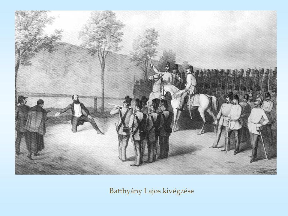 Batthyány Lajos kivégzése