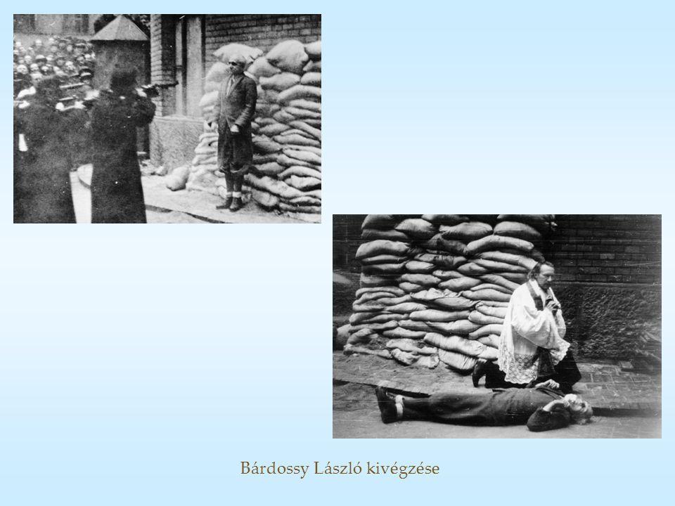 Bárdossy László kivégzése
