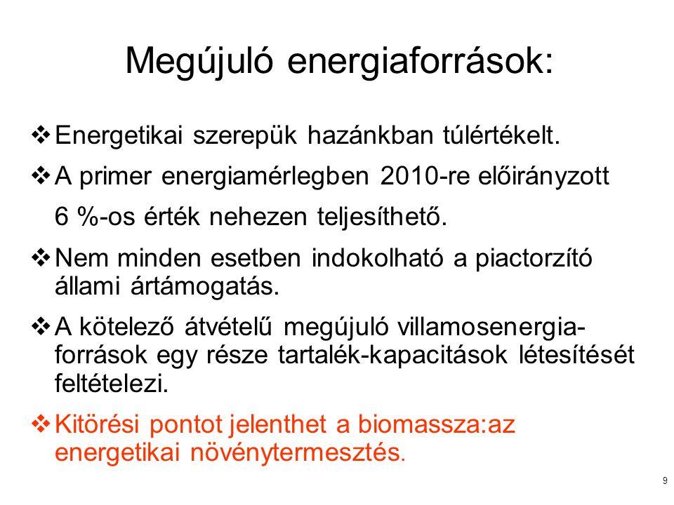 10 Szénhidrogénpiac