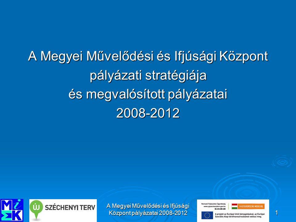 A Megyei Művelődési és Ifjúsági Központ páláyzatai 2008-201222 5.