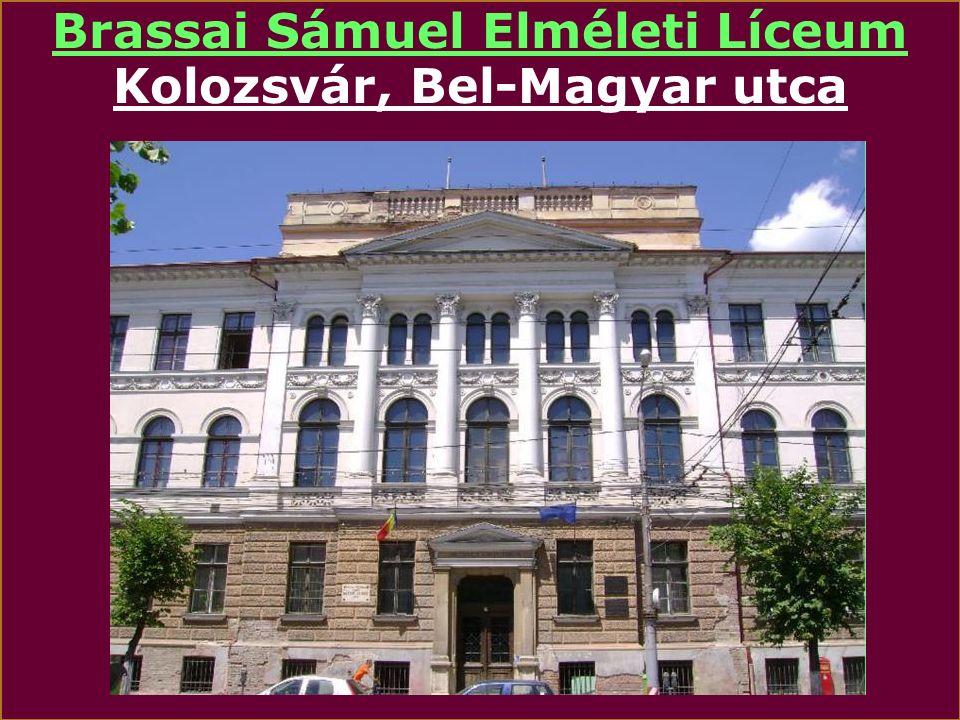 Báthory István Elméleti Líceum Kolozsvár, Farkas utca