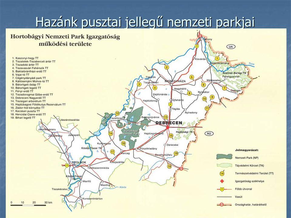 Hazánk pusztai jellegű nemzeti parkjai