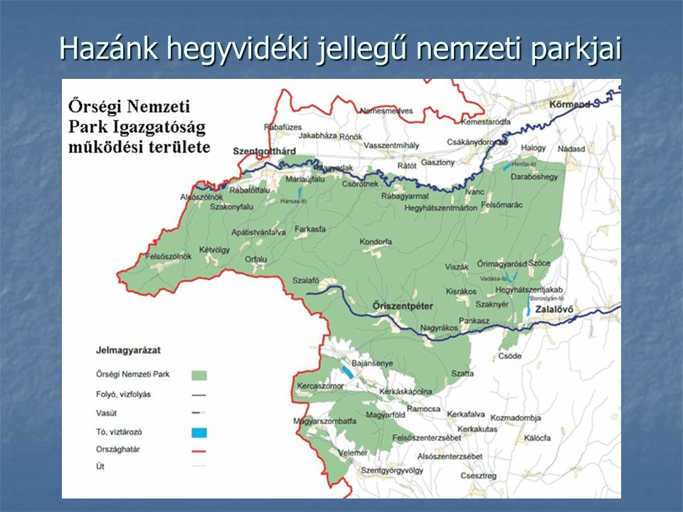 Hazánk hegyvidéki jellegű nemzeti parkjai