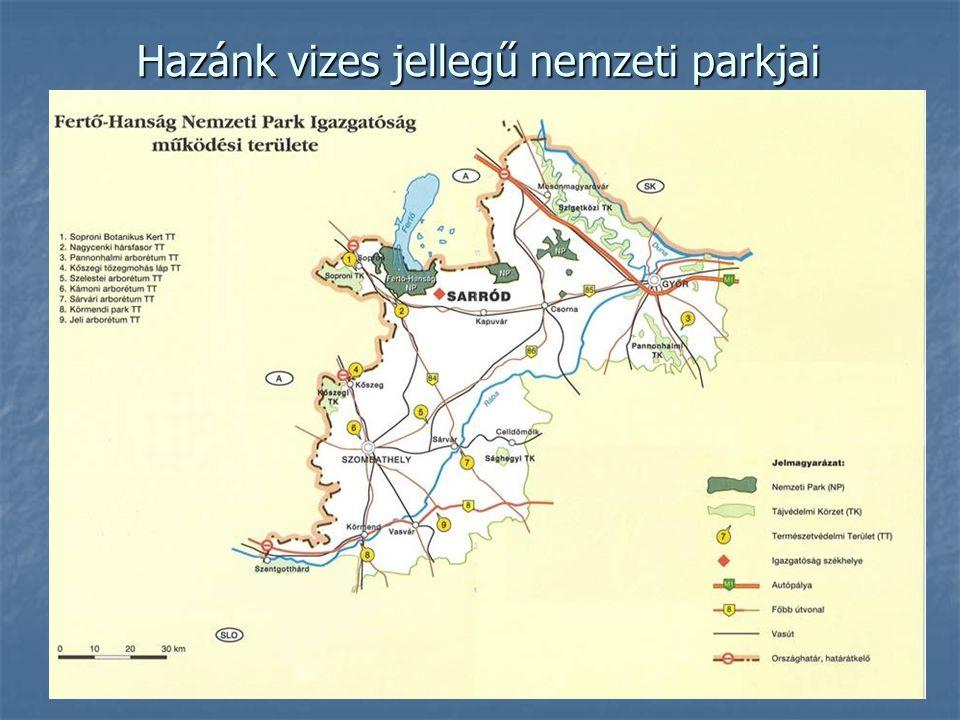 Hazánk vizes jellegű nemzeti parkjai