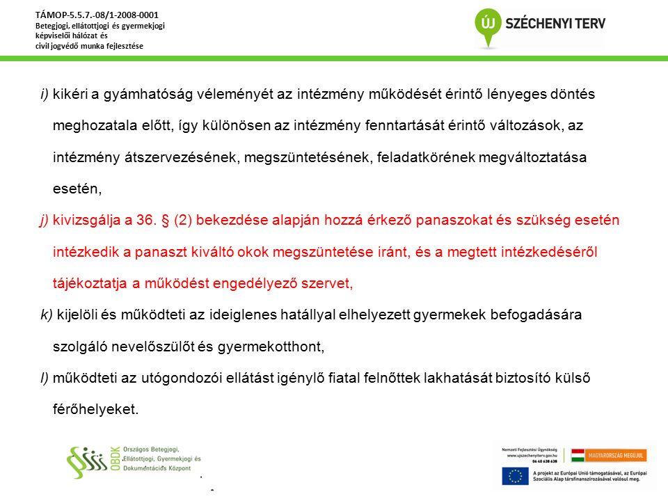 Gyermekvédelmi törvény változásai 2013.április 1.