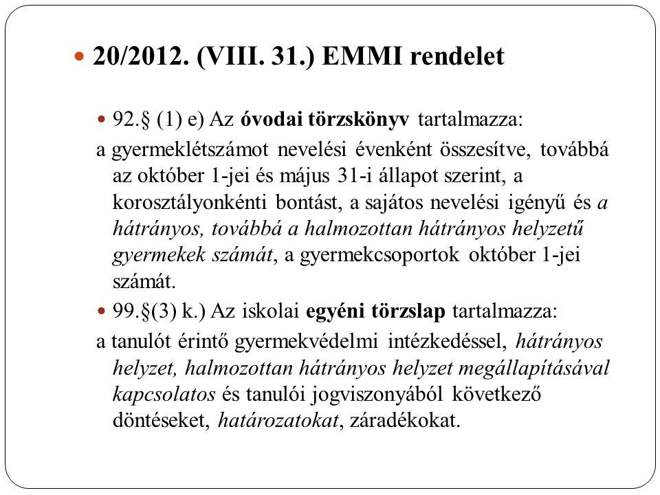 20/2012. (VIII.