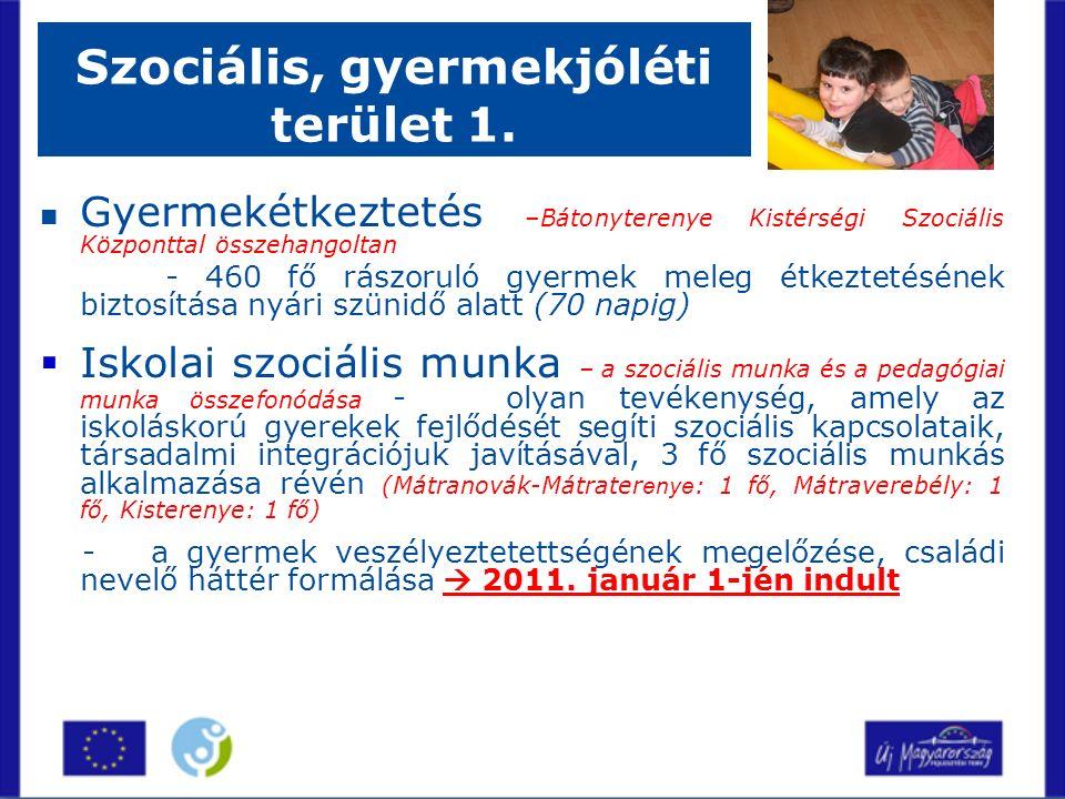 Szociális, gyermekjóléti terület 1.