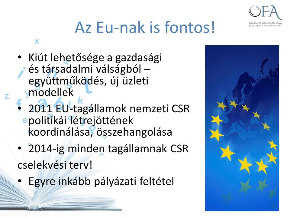 Nestlé Hungária Kft Jó gyakorlat 2016-ig 20.000 30 év alatti fiatalnak fog munka vagy gyakornoki lehetőséget biztosítani 50%-al emelik a gyakornoki pozíciók számát, és 150 fiatalnak biztosítanak munkalehetőséget