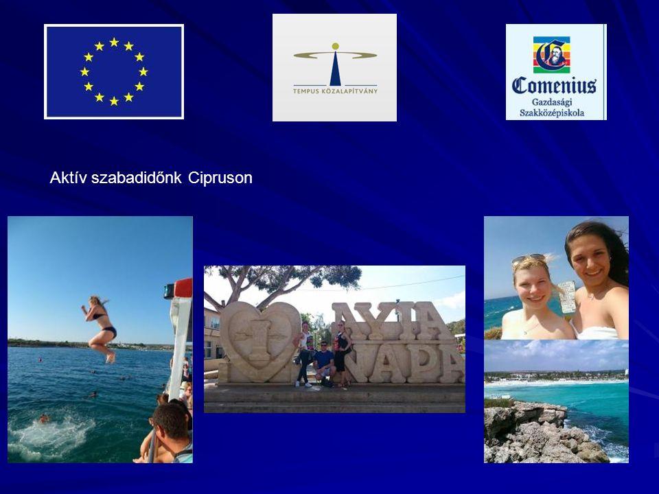 Aktív szabadidőnk Cipruson