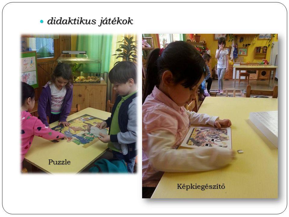 didaktikus játékok didaktikus játékok Puzzle Képkiegészítő