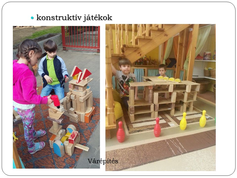 konstruktív játékok konstruktív játékok Várépítés
