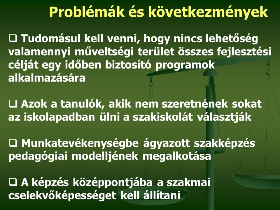 Problémák és következmények 2.